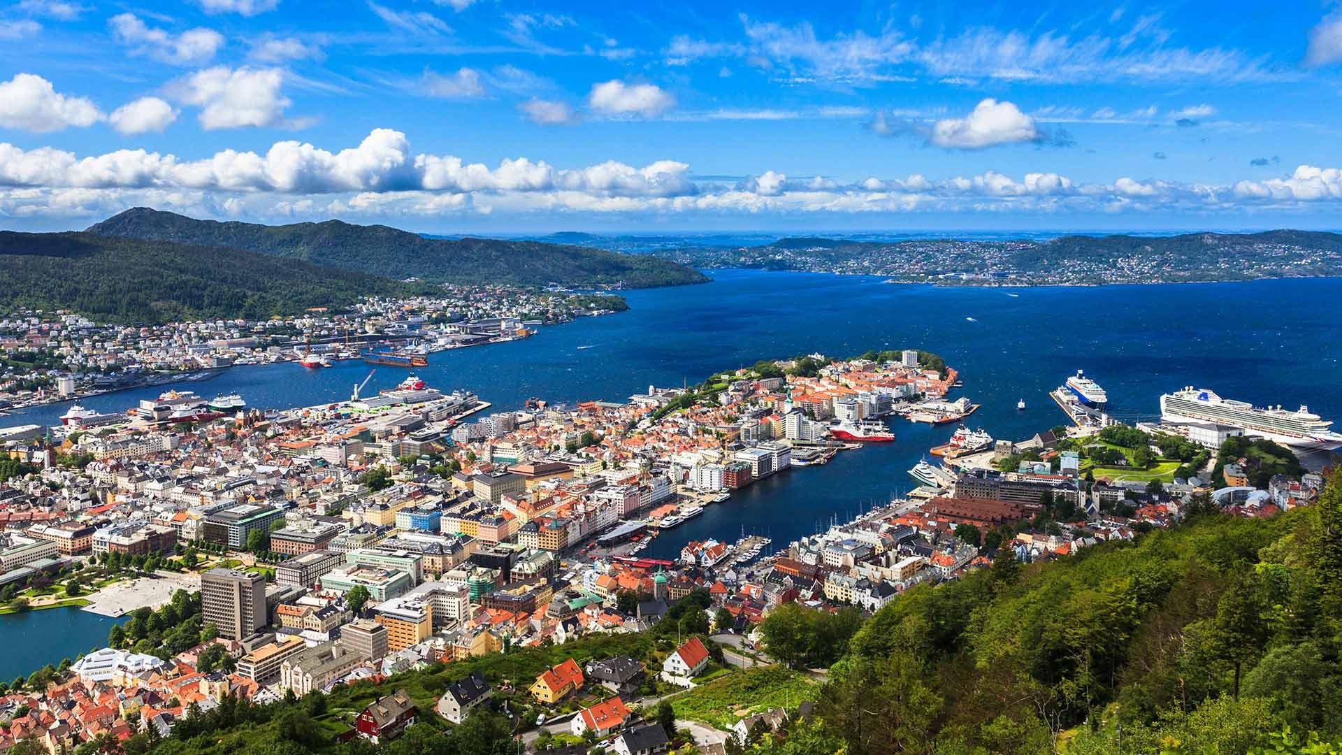 veibeskrivelse norge sverige Bergen